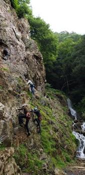 登山に役立つ岩登り