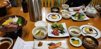 千畳敷ホテル夕食