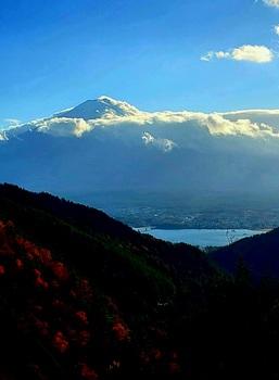 帰り道富士山2