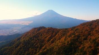 27日の富士山
