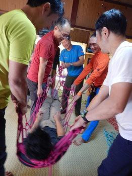 ロープ実践